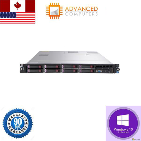 HP Proliant DL360 G7 Xeon E5630 2.53GHz 48GB 4X600GB 2.5