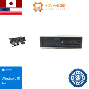 HP 6200 DT Intel i5 - 2nd Gen, 8GB RAM 500GB HDD, WIN 10 Pro