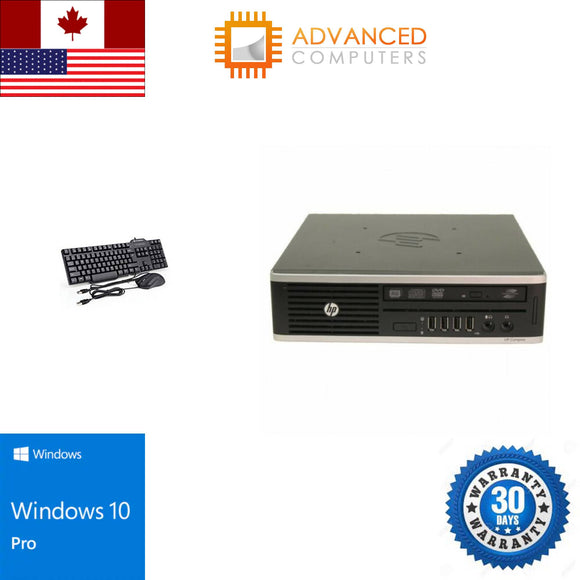 HP 8300 Ultra Sff Intel i5 - 3rd Gen, 8GB RAM 240GB SSD, WIN 10 Pro
