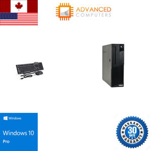 Lenovo M83 SFF Intel i5 - 4th Gen, 8GB RAM 128GB SSD, WIN 10 Pro