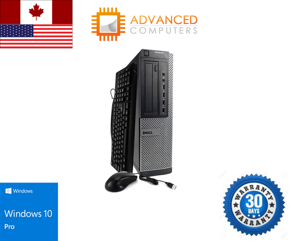 Dell 980 SFF Intel i7 - 1st Gen, 8GB RAM 1TB HDD, WIN 10 Pro
