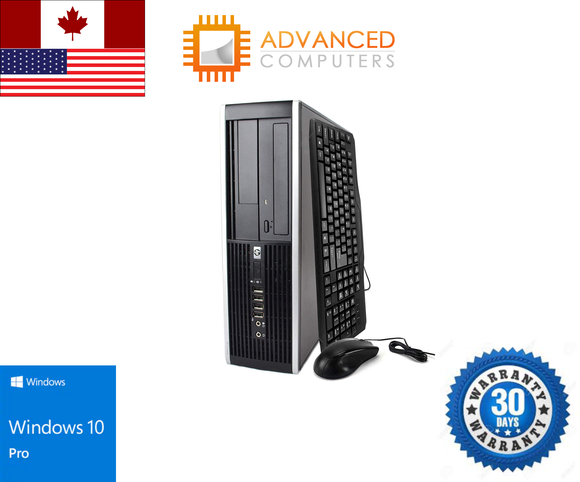 HP 8200 SFF Intel i7 - 2600 , 16GB RAM 256 GB SSD, WIN 10 Pro