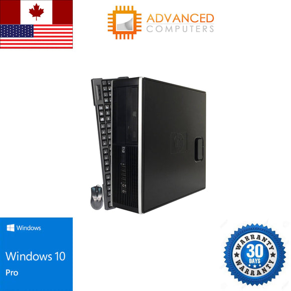 HP 6300 DT Intel i5 - 3rd Gen, 8GB RAM 1TB HDD, WIN 10 Pro
