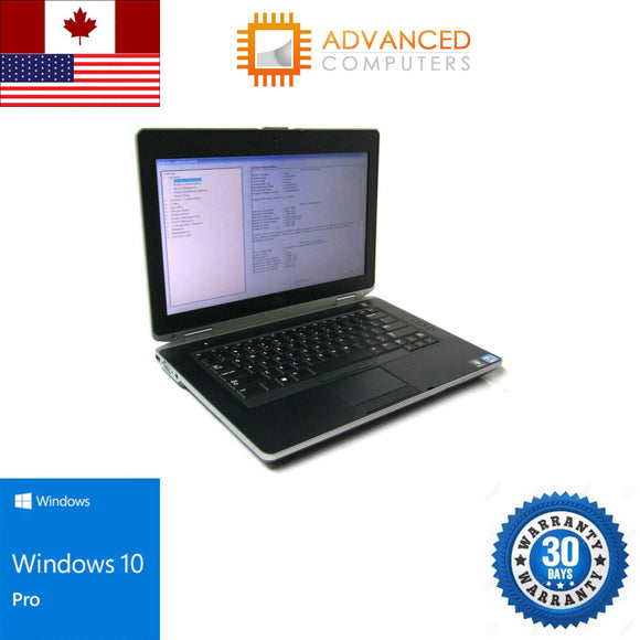 Dell E6430 Intel i7 – 3rd Gen 8GB RAM 240GB SSD WIN 10 PRO