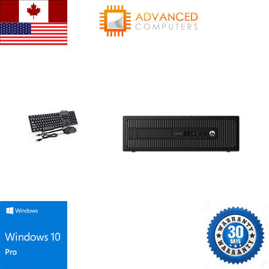 HP 800 G1 SFF Intel i5 - 4th Gen, 16GB RAM 256GB SSD, WIN 10 PRO