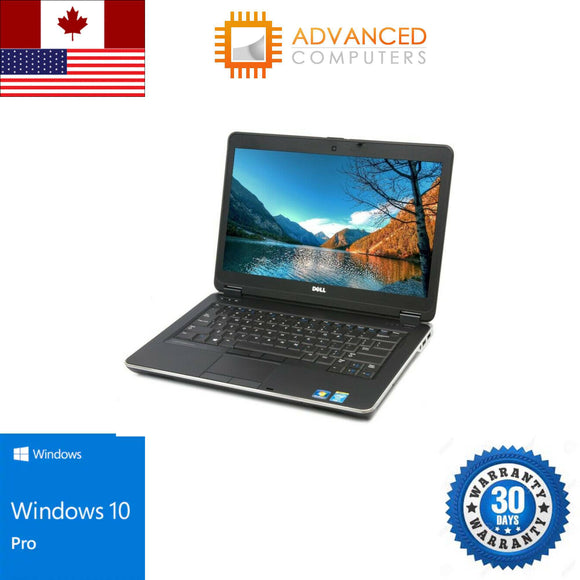 DELL Laptop Latitude E6440 Intel Core i5 4th Gen 4300M (2.60 GHz) 8 GB Memory 256 GB SSD 14.0