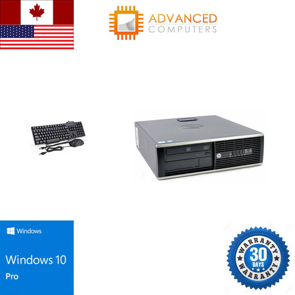 HP 8300 DT Intel i7 , 16GB RAM 2TB HDD 240GB SSD , WIN 10 Pro
