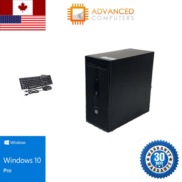 HP Prodesk 405 G2 Tower AMD-A8-6410 8GB RAM 500 GB HDD DvdRw Win10 pro