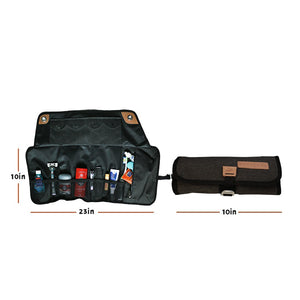 Travel Tool Roll To Organize Your Toiletries