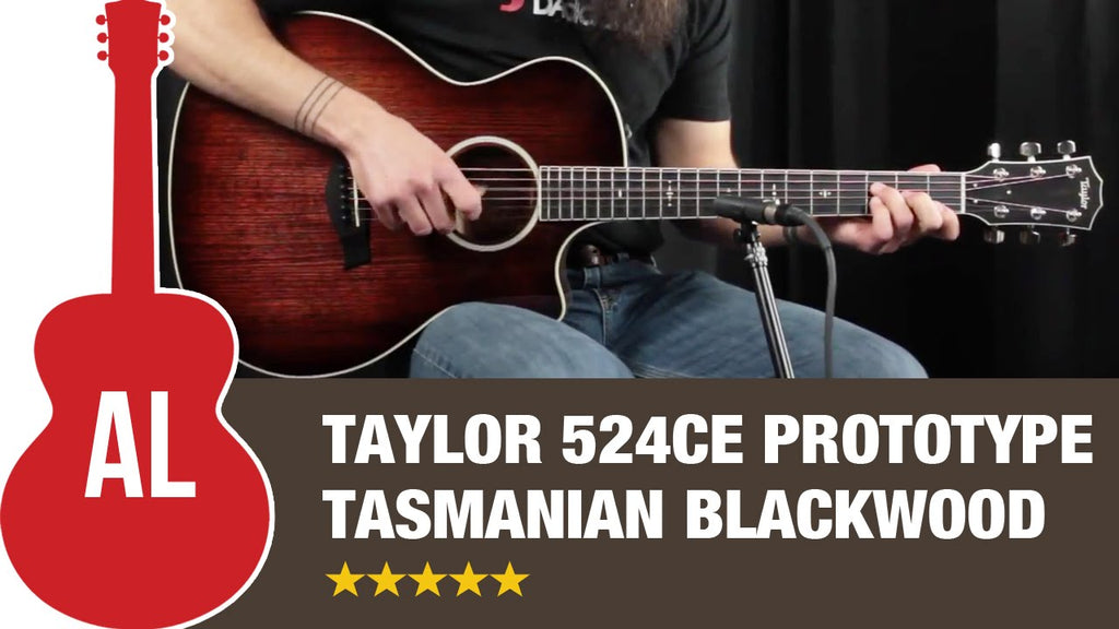 Taylor Guitars 524ce Tasmanian Blackwood Back & sides plus soundboard prototype