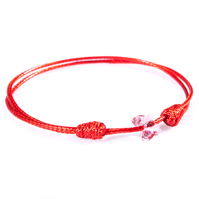 Red String 'Butterfly' Bracelet