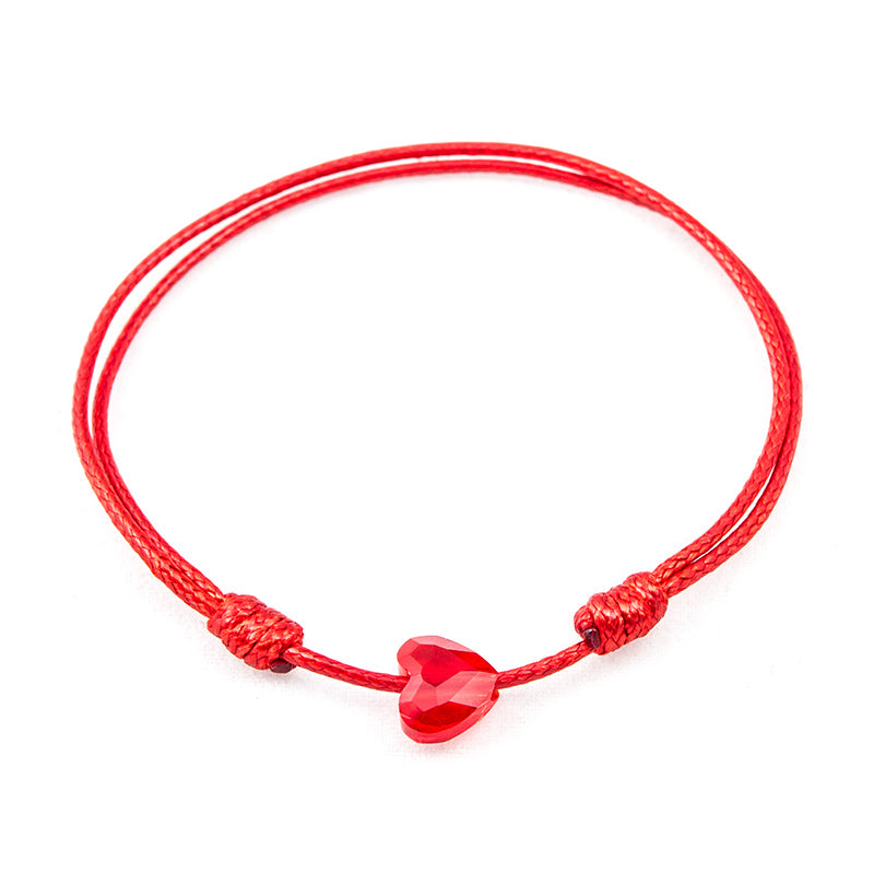 Red String 'Gentle Heart' Bracelet