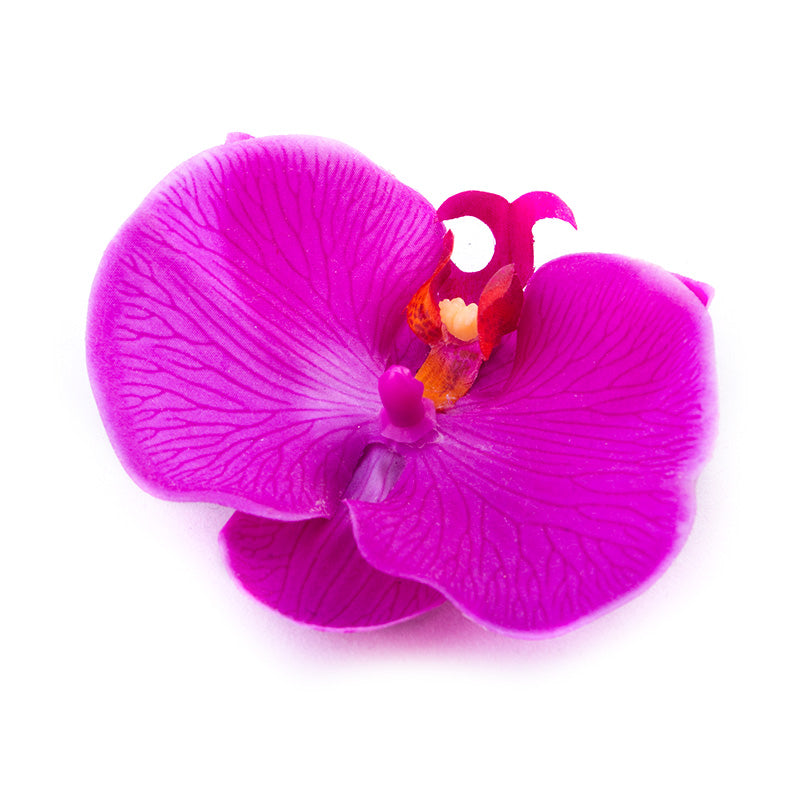 'Purple Orchid' Hairpin