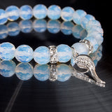 'Moonstone Crystal Angel' Bracelet