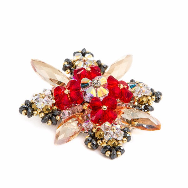 'Red Star' Brooch