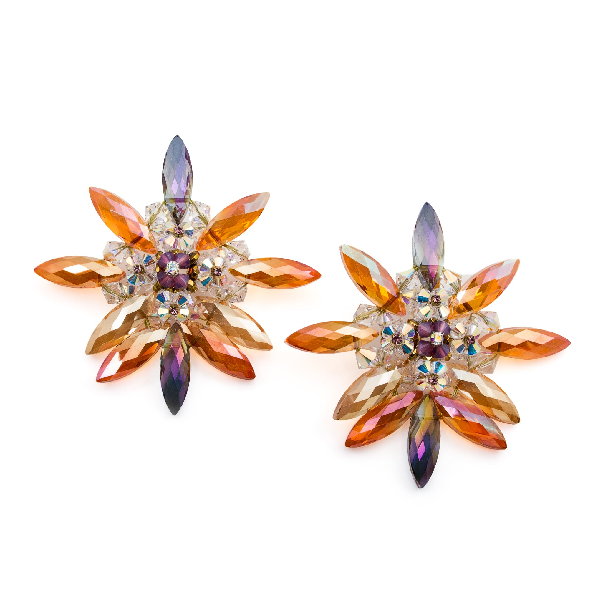 'Fire Star' Earrings