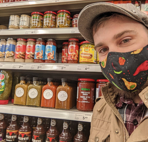 Jesse Owner Of The Hot Sauce Co