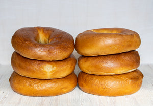 Vegan Plain Bagel (6-Pack)