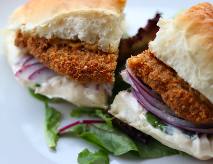 Seitan Breaded Cutlets (chicken substitute)