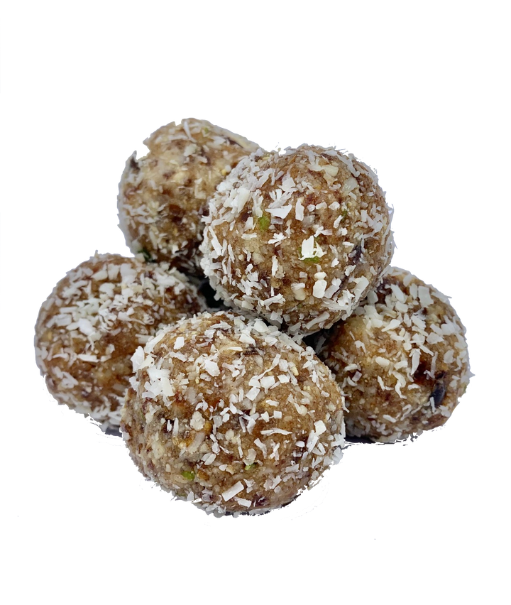 Coconut Lime Cranberry Energy Bites