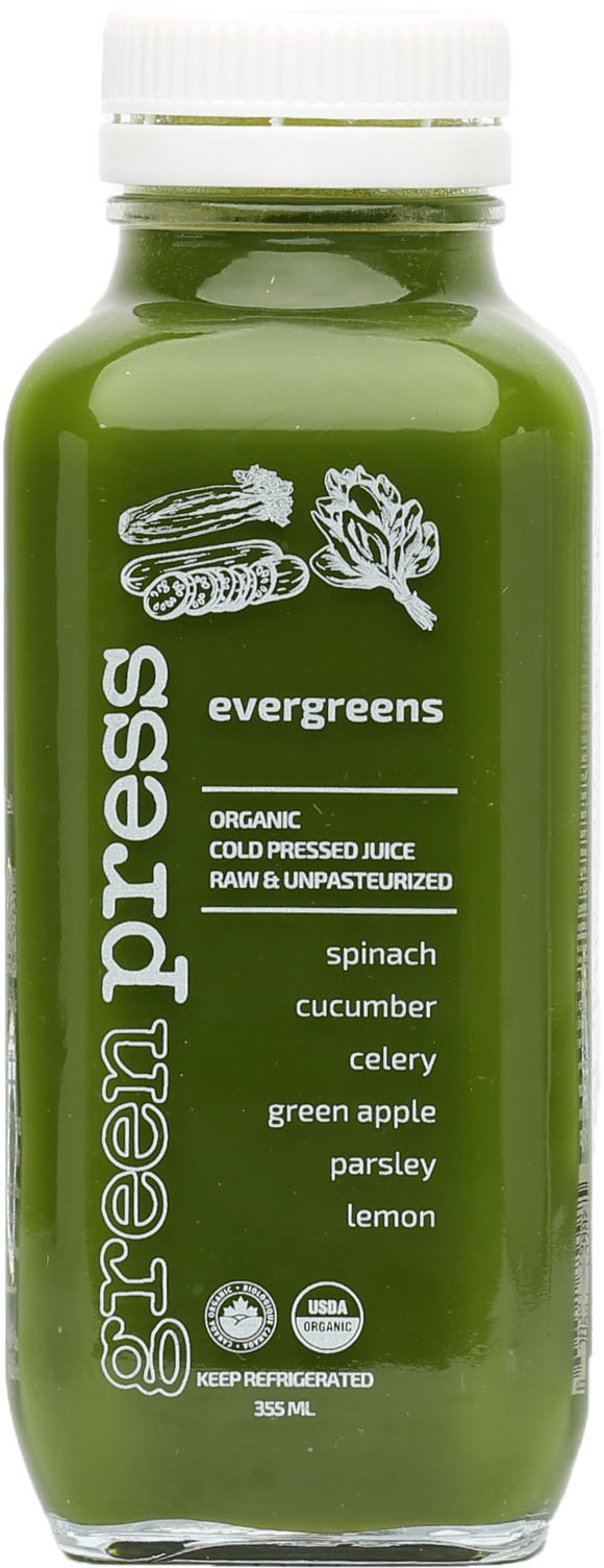 Evergreens Juice
