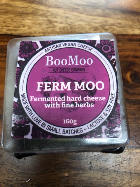 Ferm Moo (Vegan Fermented Cheese)