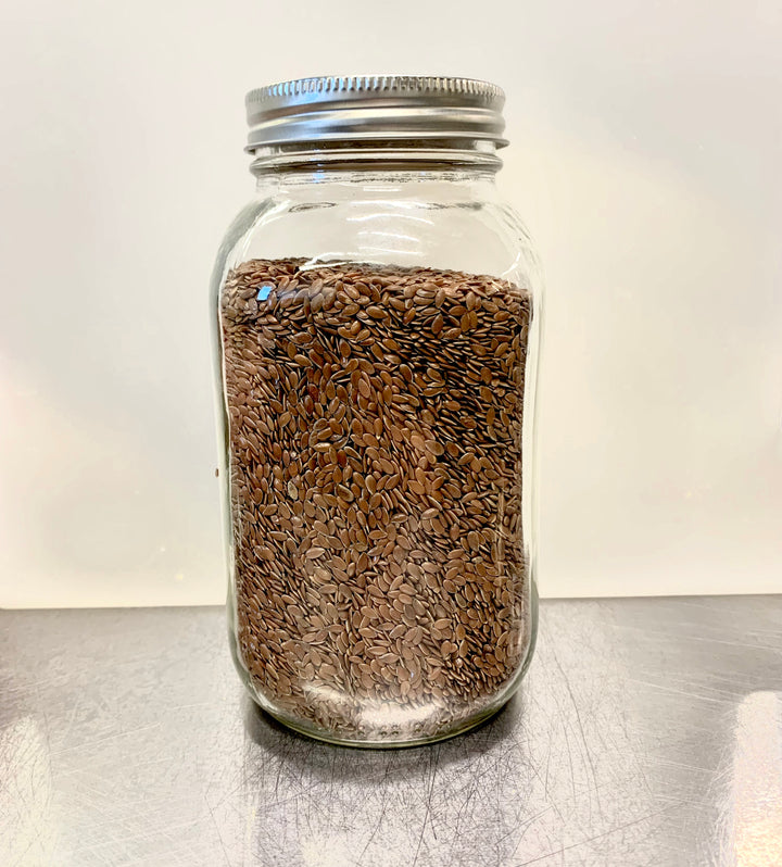 Organic Brown Flax (600 g)