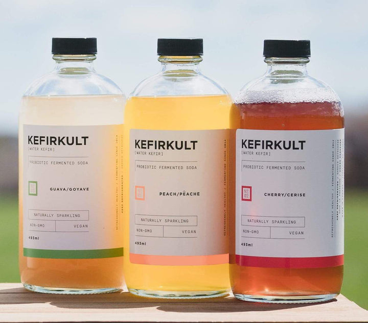 6 Pack of Water Kefir