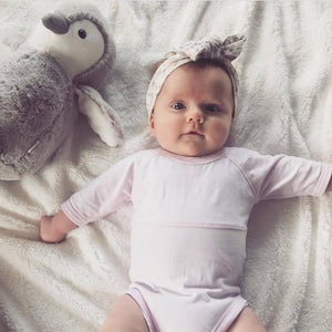 Long Sleeve Onesie | Soft Pink