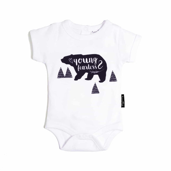 Onesie | Young & Fearless (White)