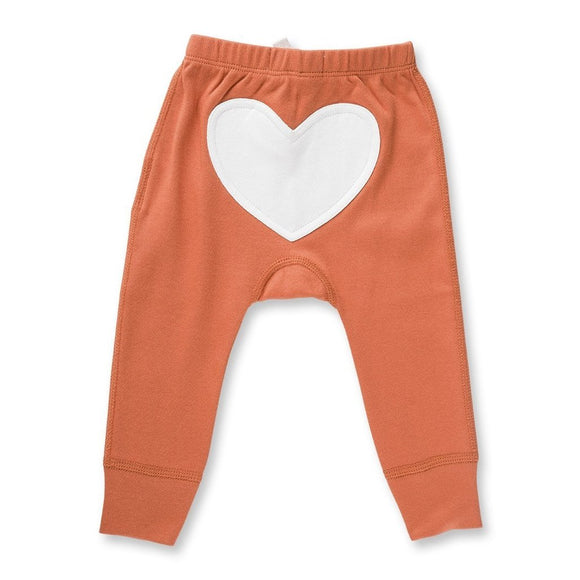 Heart Pants | Fox Brown