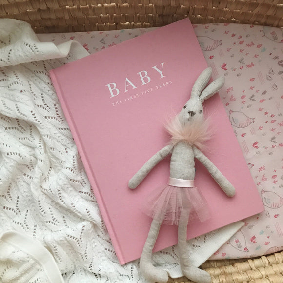 Baby Journal | Birth To Five Years (Pink)