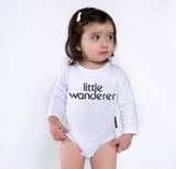 Long Sleeve Onesie | Little Wanderer