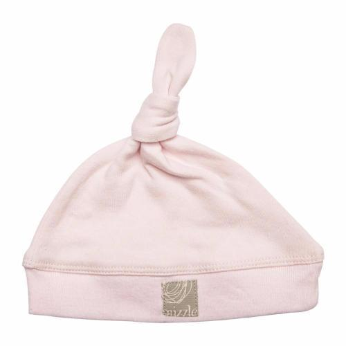 Single Knotted Beanie | Soft Pink
