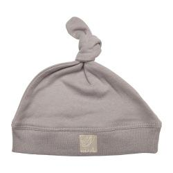 Single Knotted Beanie | Soft Grey
