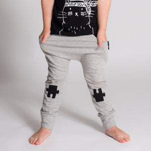 Harems | Puzzle Knee Patch (Grey)