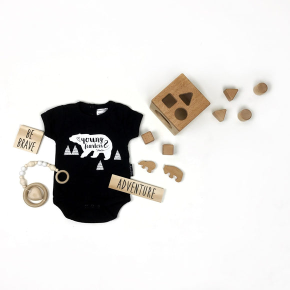 Onesie | Young & Fearless (Black)