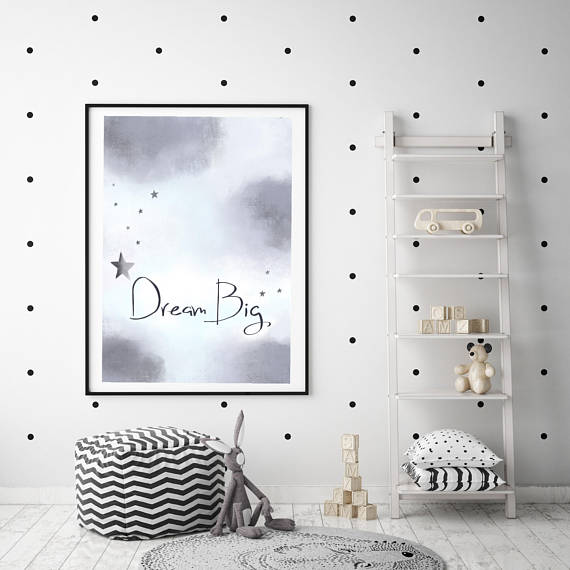 Illustration Print | Dream Big