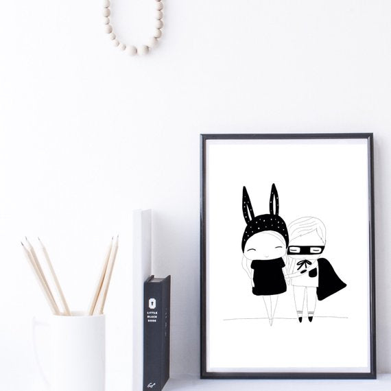 Illustration Print | Little Cuties