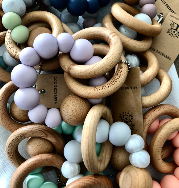 Luna Teething Rattle