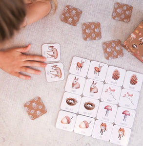 Memory Card Game | Woodland