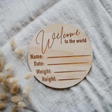 """Welcome To The World"" in Wooden 
