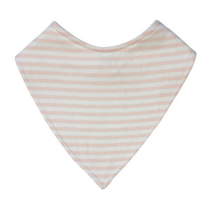 Dribble Bib | Pink Stripe