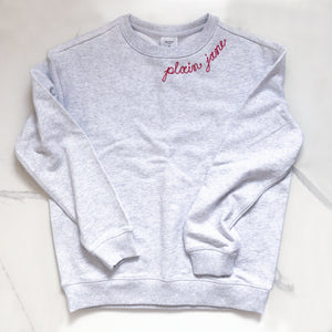 The Basic Sweatshirt