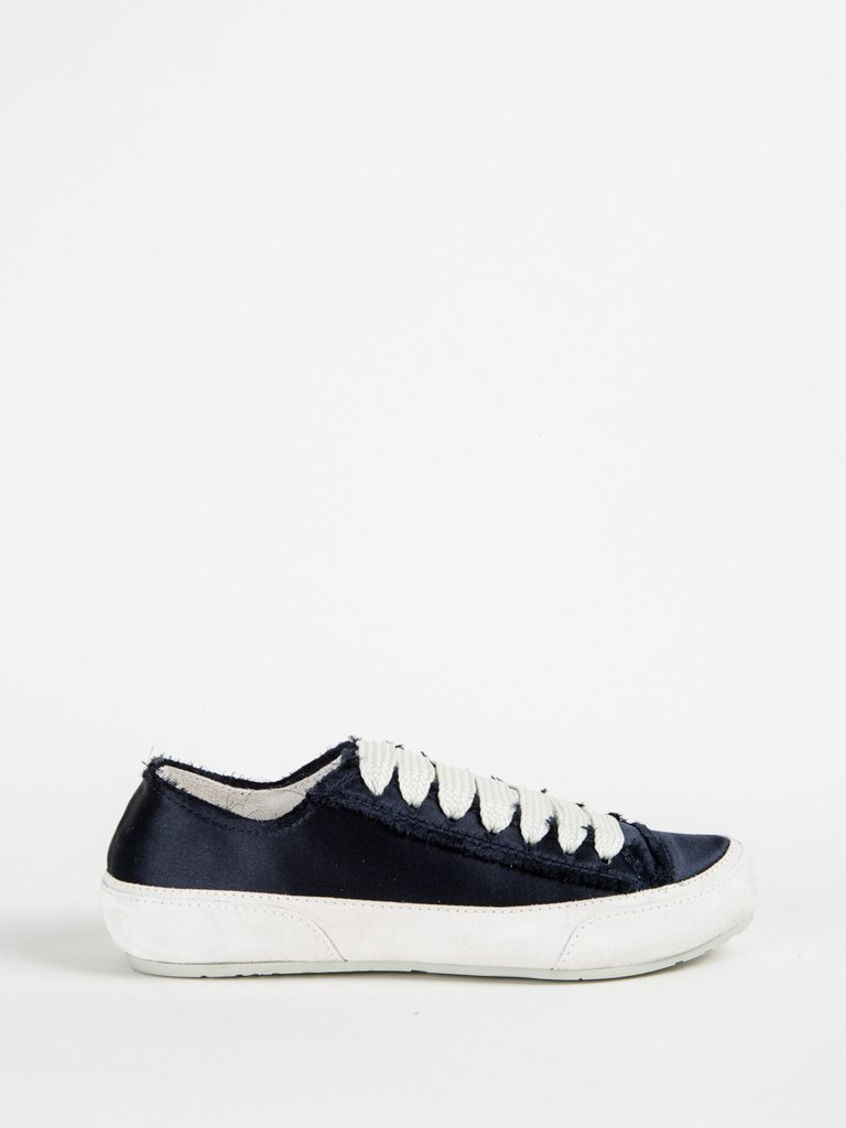pedro garcía parson sneaker in midnight satin