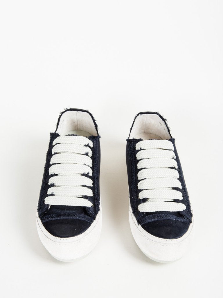 pedro garcia parson sneaker in midnight satin