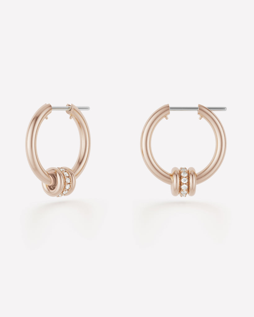 ara sp hoops - rose gold