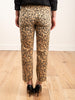 loverboy relaxed crop straight - leopard