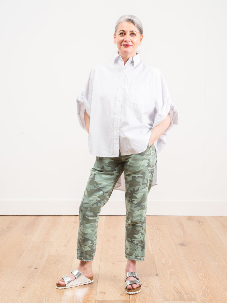 slouch trouser - spring camo