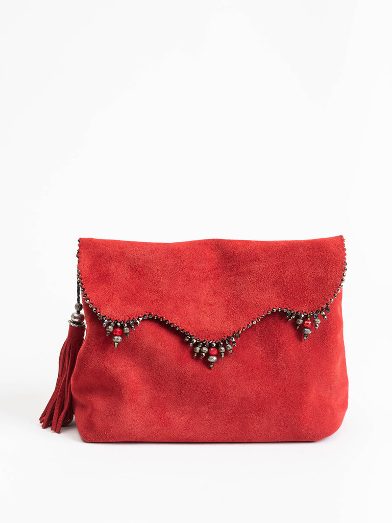 reversible clutch - red/black